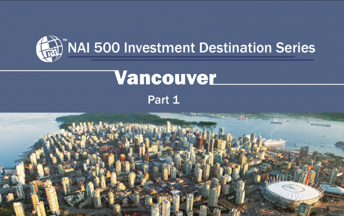 NAI500 Investment Destination Series Part 1 - learn about investment in Vancouver - China investment - Chinese investors