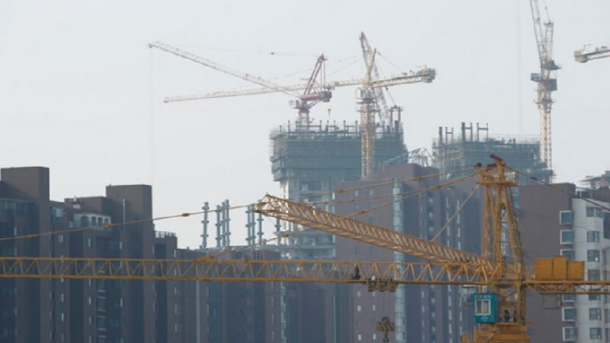 China's Property Investment Growth Slowed Last Month as Housing Inventory Fell 8.82 Million Square Meters