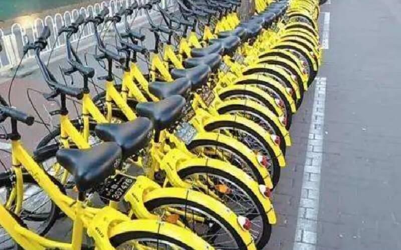 China's Ofo joins crowded Paris bike-share market