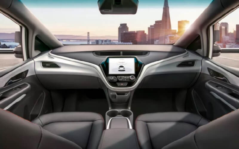 No pedal to the metal in GM's planned self-driving Cruise AV car