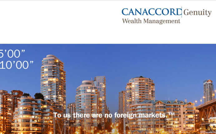 Equities vs. Real Estate: Is your Portfolio Protected from a Real Estate Crash? Learn from Canaccord's Yasmin Gordon at the GCFF Vancouver Conference 2018