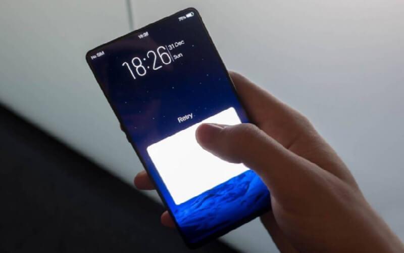 Vivo Displays First Half-Screen In-Display Fingerprint-Scanning Handset at MWC