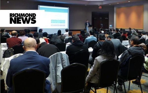 Interview with Richmond News: Richmond conference discovers opportunities to invest in new tech industries