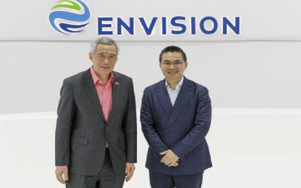 Singapore PM Meets Chinese Energy Firm Envision to Discuss Smart City Tech