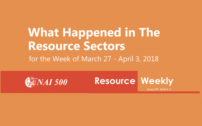 NAI Resource News Weekly