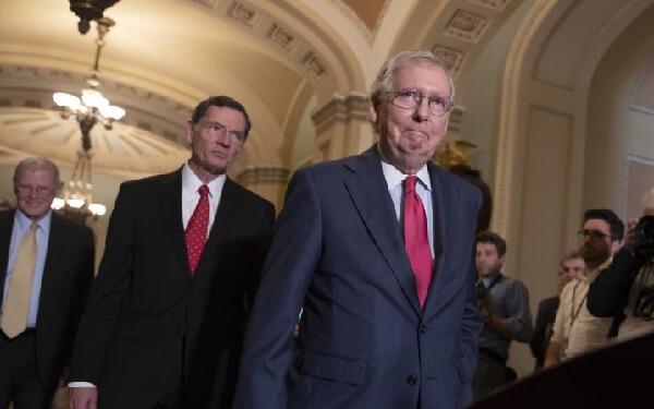 Sen. Mitch McConnell pushes hemp legalization in farm bill