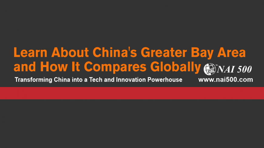 Learn About China's Greater Bay Area and How It Compares Globally
