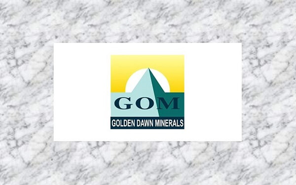 Golden Dawn Minerals Inc. (TSXV GOM)