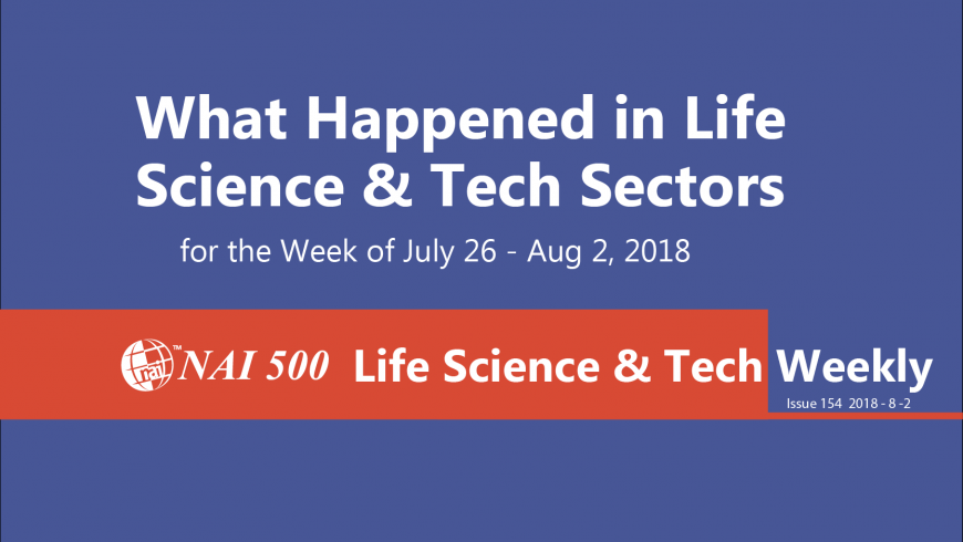 Life Science & Technology Weekly 154 – Manulife launches Canada's first medical marijuana program with Shoppers Drug Mart
