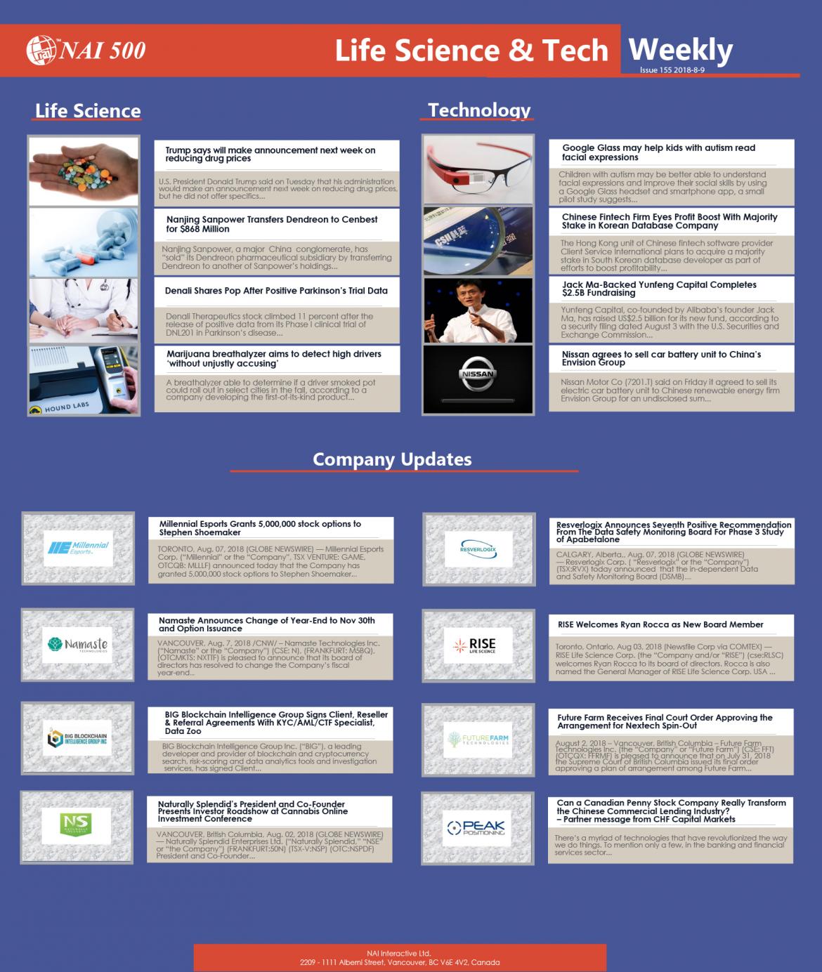 NAI500_Company_Life_Science_Weekly_Investment__Investors_Aug