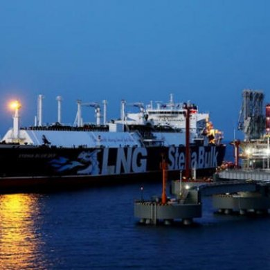 ENN receives LNG cargo at China's first major private import terminal