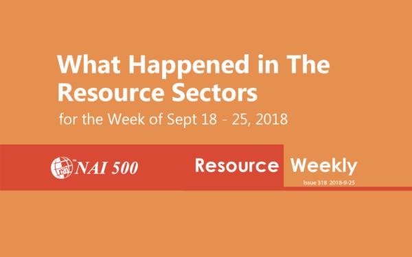 NAI Resource Weekly - www.nai500.com