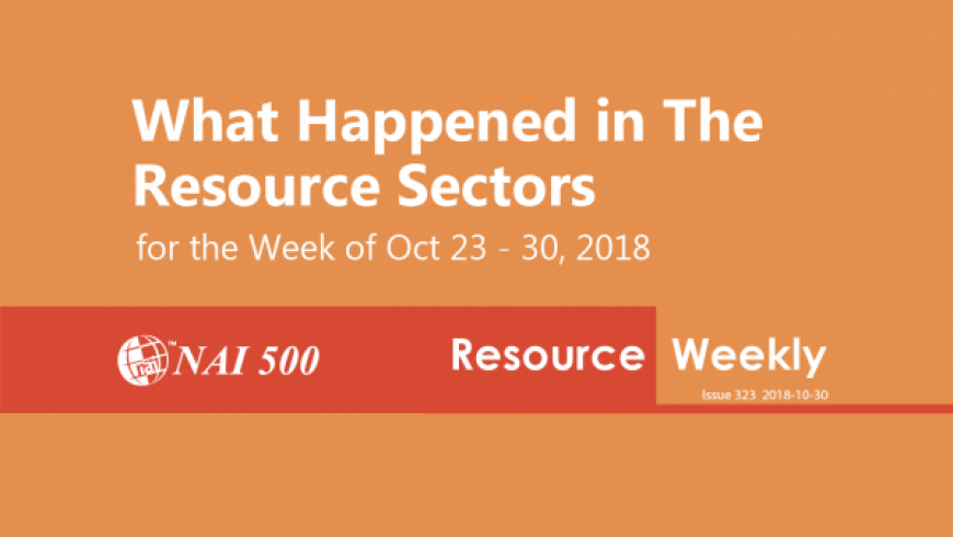 Resource Weekly 323 – Regulus Announces Closing of Spin-Out of Aldebaran Resources Inc.