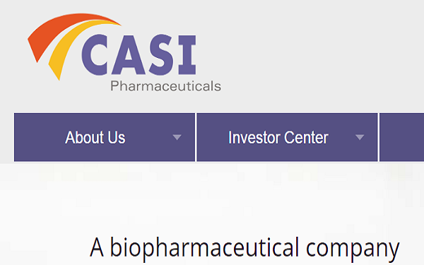 CASI Pharma to Build Manufacturing Plant in Wuxi, China,美中CASI制药中国研发生产总部基地落户惠山