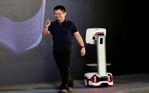 Syrius Robotics, Nvidia and JD Logistics Show Off New Warehouse Robot-中国炬星牵手英伟达、京东推出人机协作型自主移动机器人