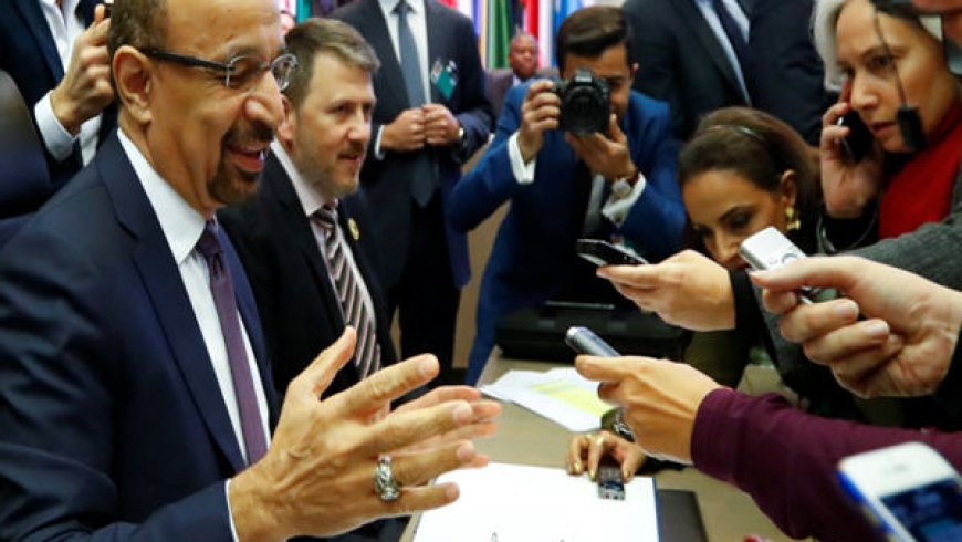 OPEC and allies agree to cut oil production by 1.2 million barrels per day