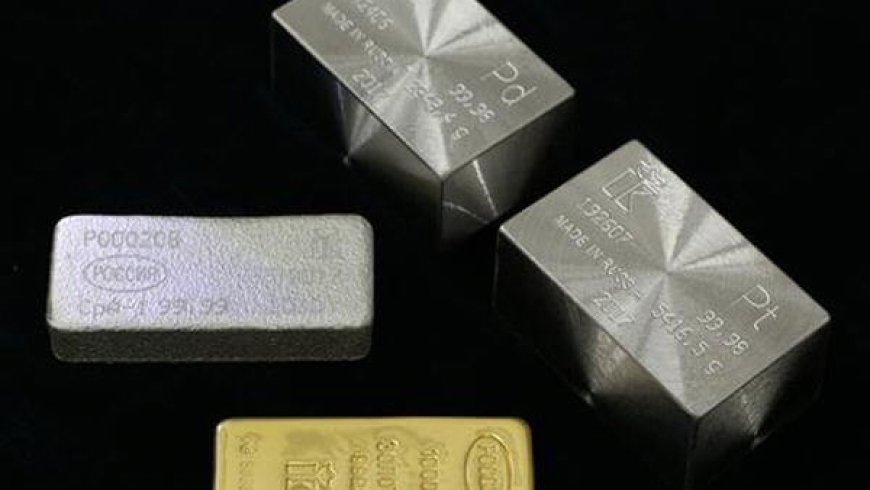 Palladium takes gold's crown as most valuable precious metal