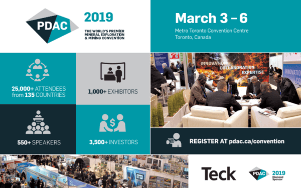 PDAC 2019 Convention – the event you cannot afford to miss