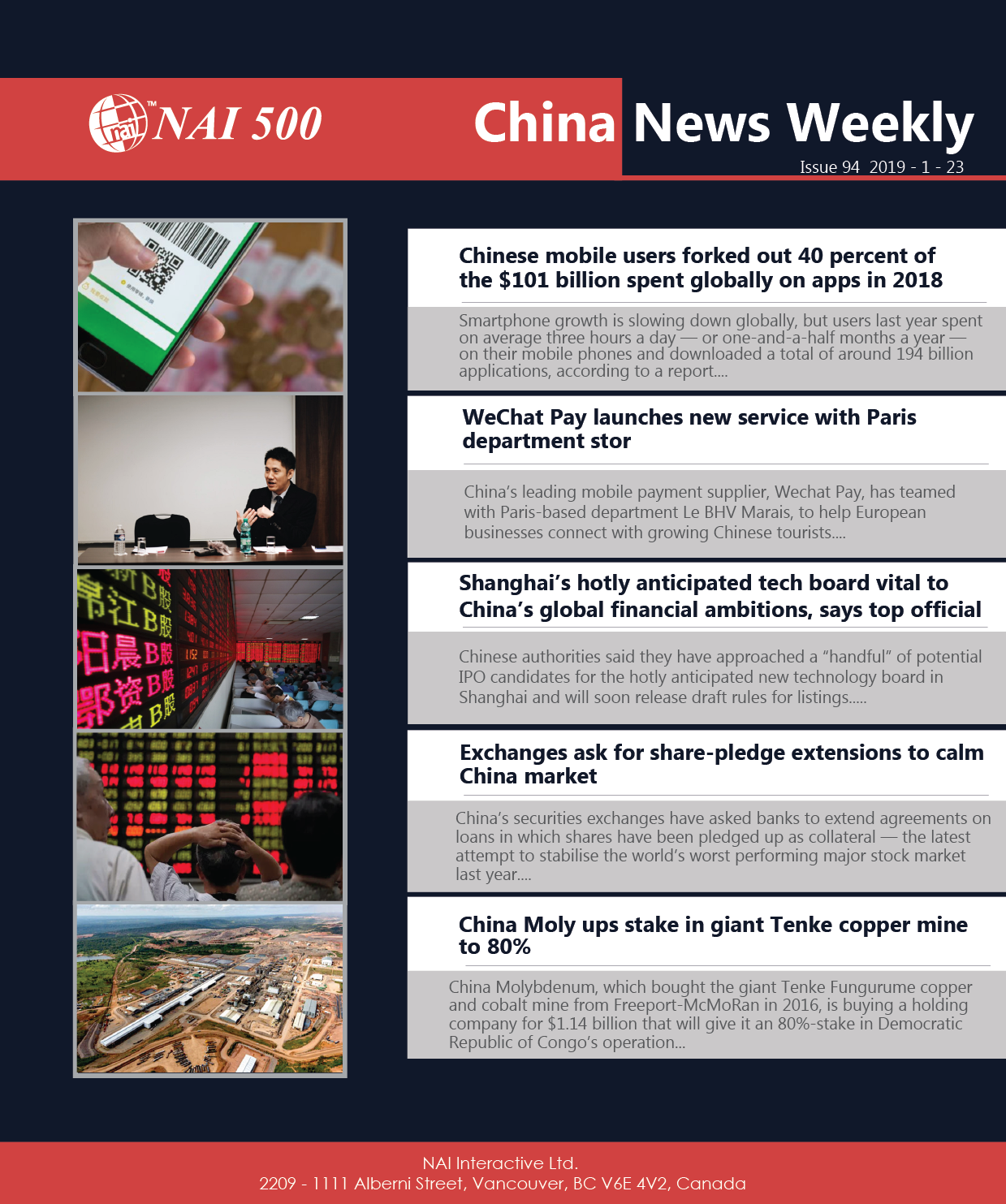 China News Weekly 94 - Chinese mobile users forked out 40