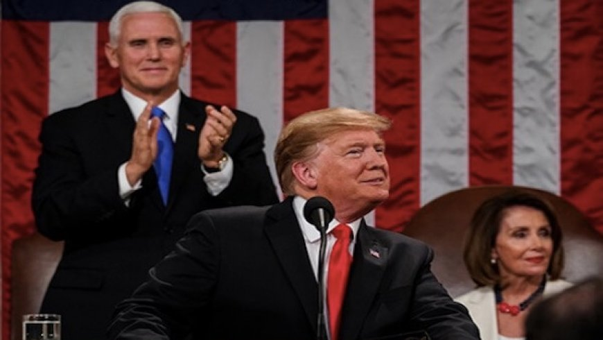 Trump vows to build border wall, warns Democrats against investigations