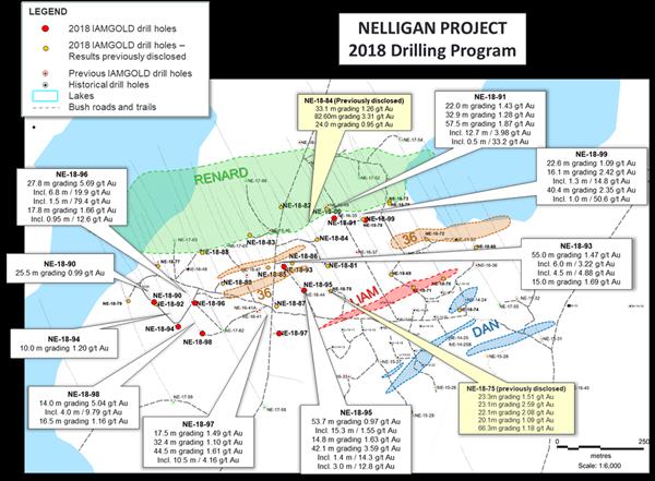 Vanstar Mining Resources (TSXV VSR) - Nelligan Project 2018 Drilling Program