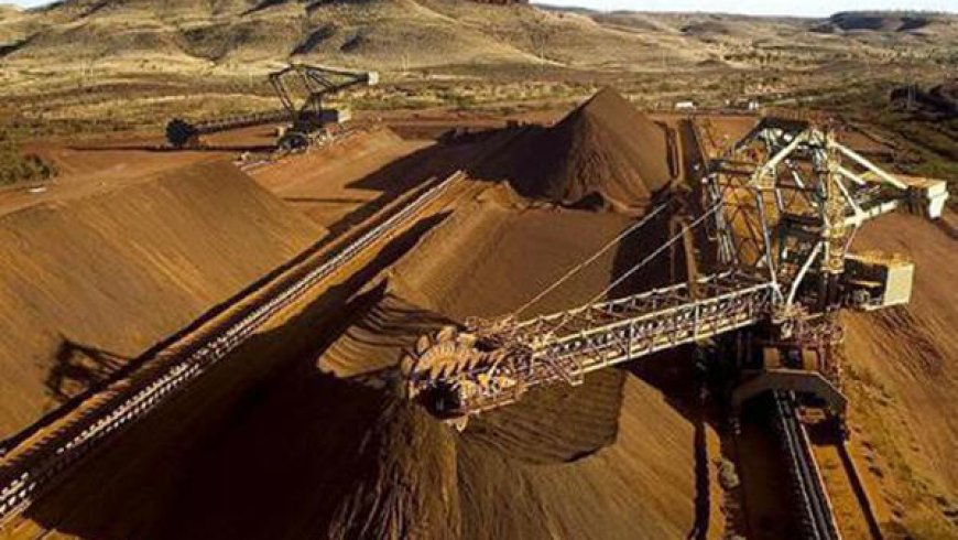 Iron ore prices reach almost two-year high