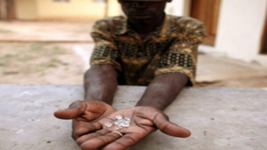 Russian diamond miner Alrosa wants controlling stake to mine in Zimbabwe