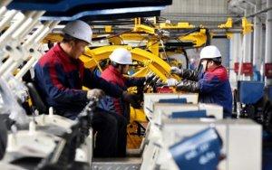 China Jan-Feb Industrial Output up 5.3 Percent, a 17-Year-Low, but Investment Tops Forecasts-中国1-2月工业增加值同比增长5.3%,投资和零售增长超预期