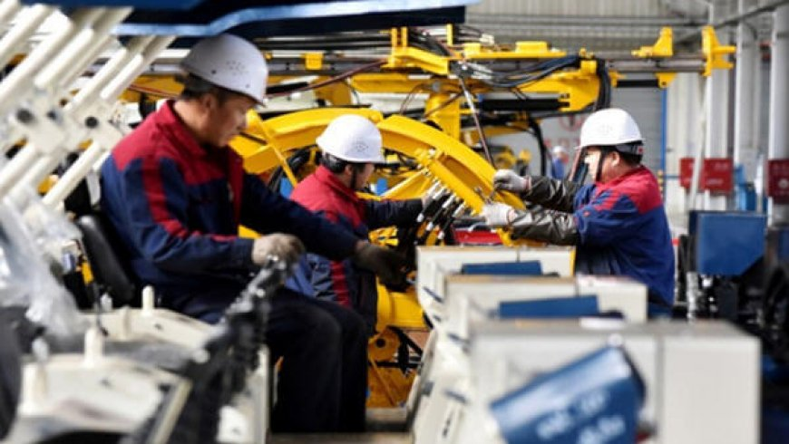 China Jan-Feb Industrial Output up 5.3 Percent, a 17-Year-Low, but Investment Tops Forecasts