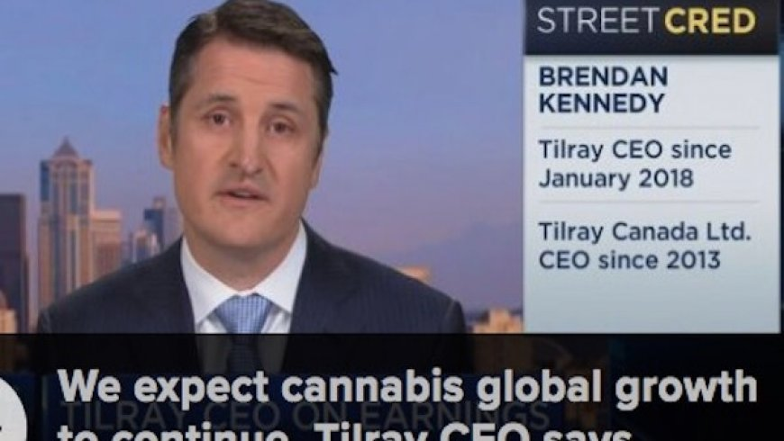Marijuana grower Tilray rallies 3% after sales more than double