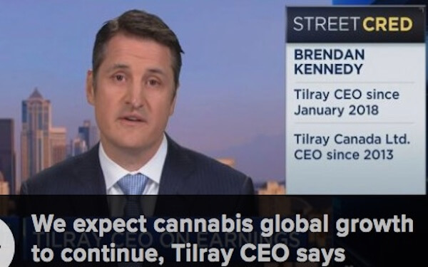 Marijuana grower Tilray rallies 3% after sales more than double,大麻种植商Tilray销售额翻一番,股价上涨