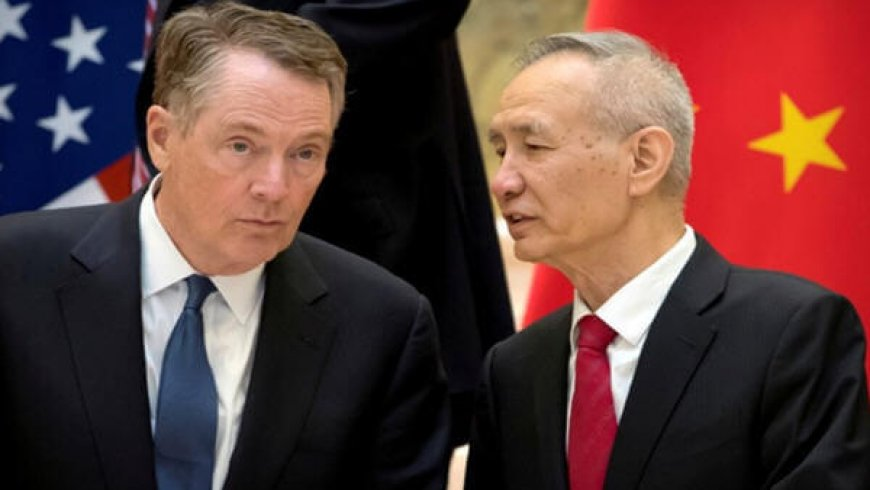 US-China Plan New Trade Talks for Deal by End of April: WSJ