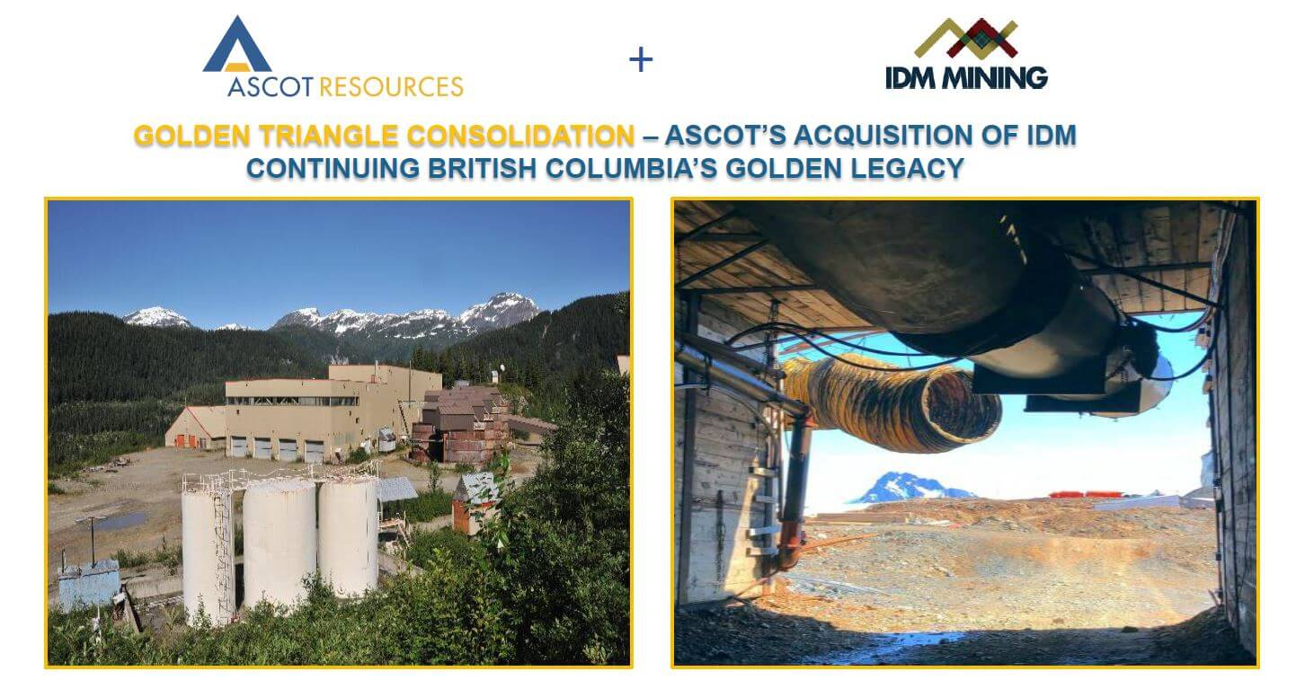 Ascot Resources Ltd TSXV AOT