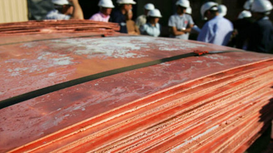 China Jan-Feb refined copper output rises 6.3% year-over-year — stats bureau