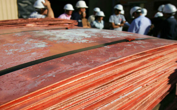 China Jan-Feb refined copper output rises 6.3% year-over-year — stats bureau-国家统计局:中国1-2月精铜产量同比增长6.3%