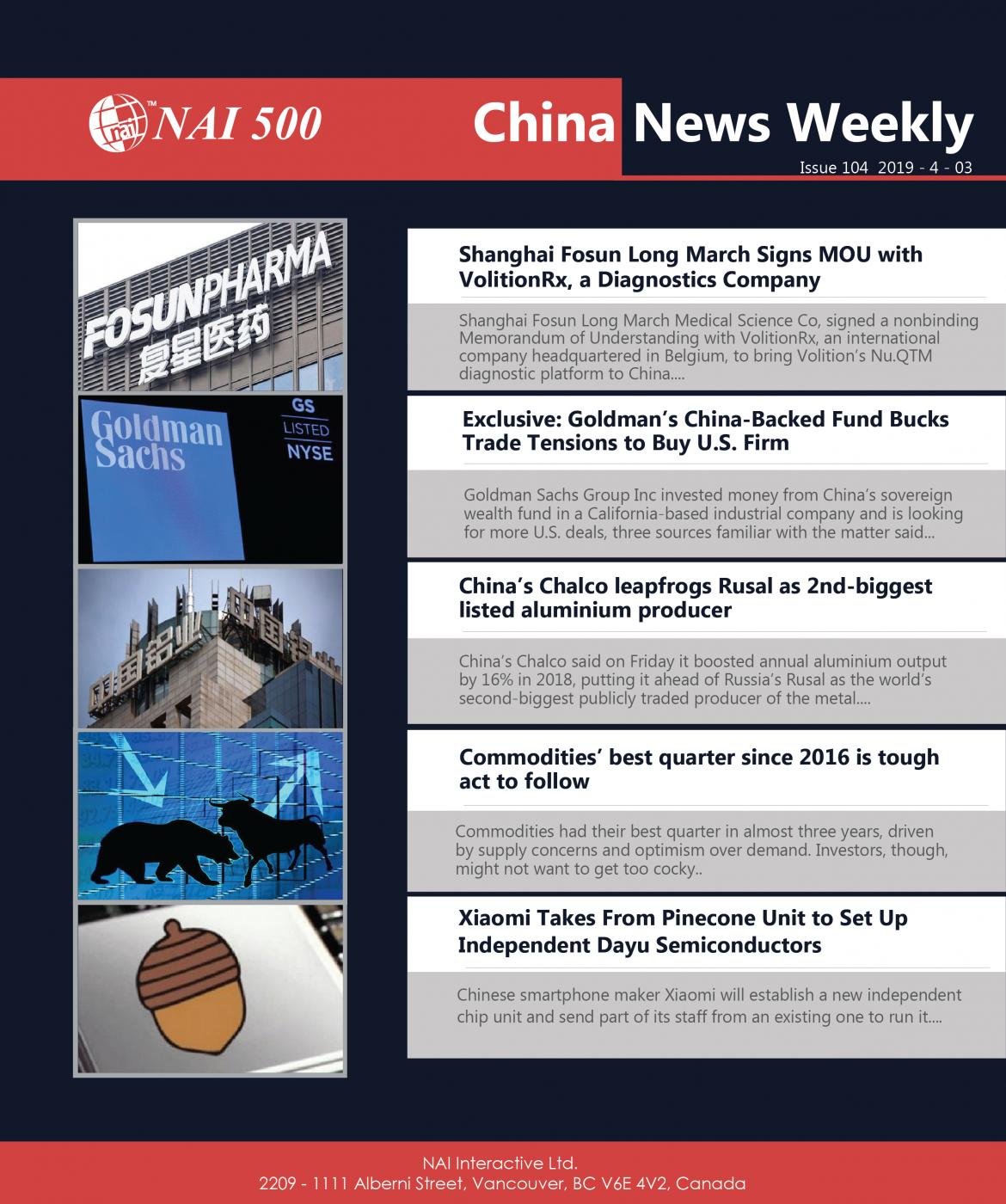 China News Weekly_China_News_Investment_April_03_2019 - NAI 500