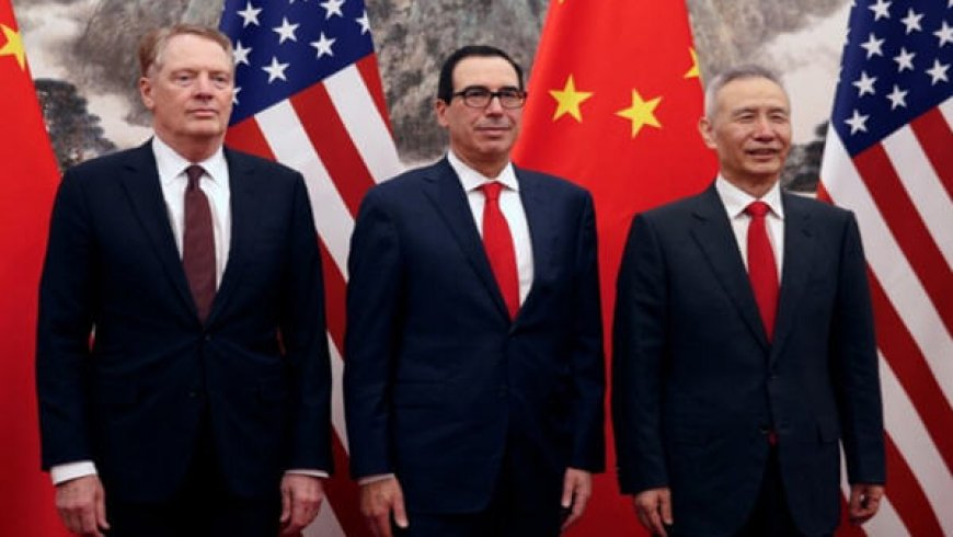 China, U.S. Start Latest Trade Talks After 'Nice' Working Dinner