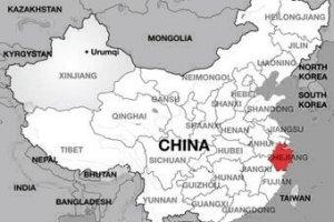 Shenzhen & Hangzhou map