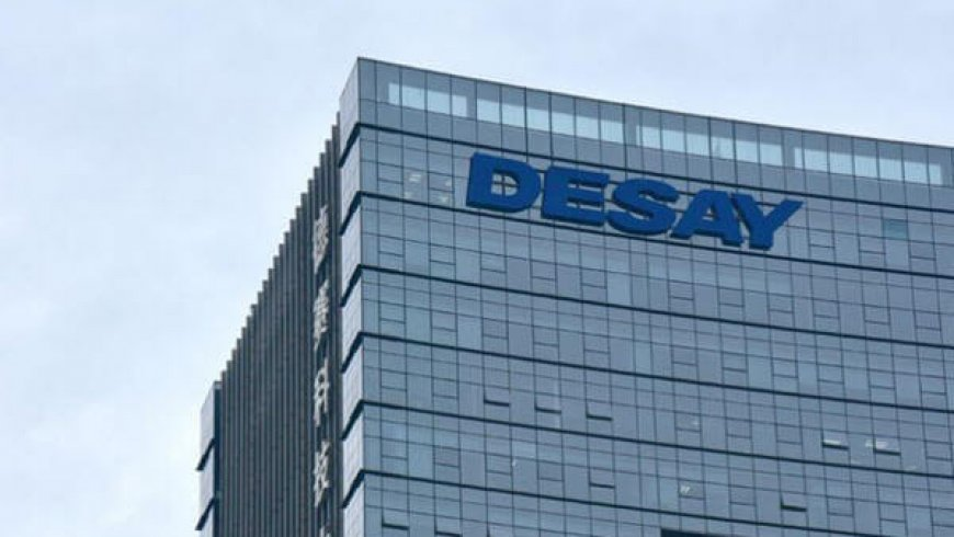 China's Desai to Build USD375.4 Million IoT Battery Plant in Guangdong