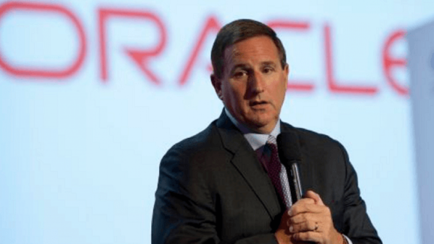 Oracle up as it beats expectations