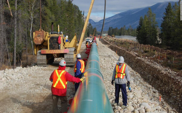 撥雲見日,Trans Mountain輸油管道擴建項目或將于9月破土動工