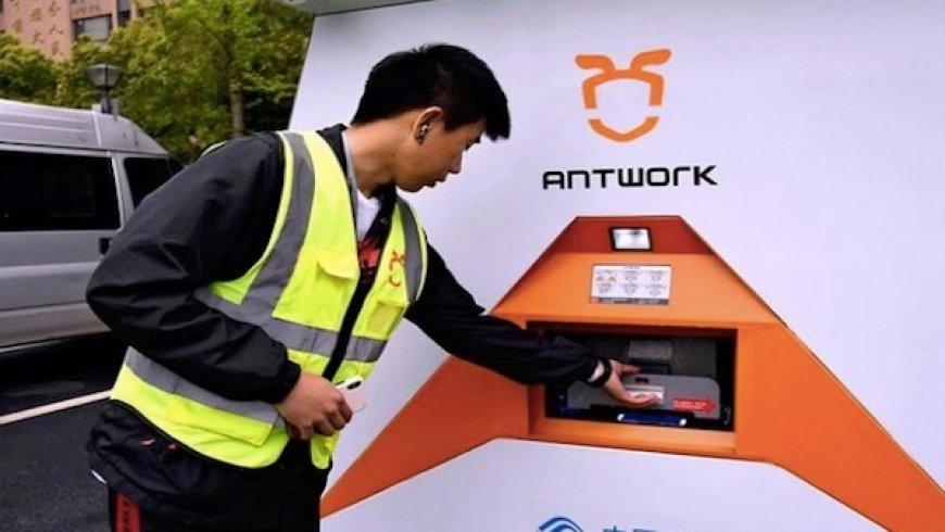 中國迅蟻與日企共同開發無人機配送服務