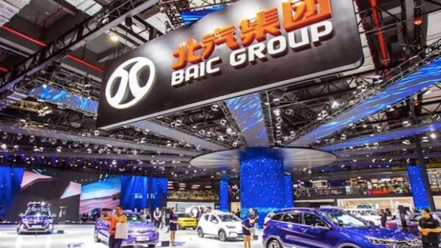 China's BAIC Buys 5% of Daimler