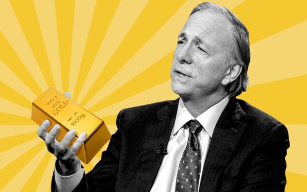 橋水創始人Ray Dalio:黃金將迎來10年大牛市