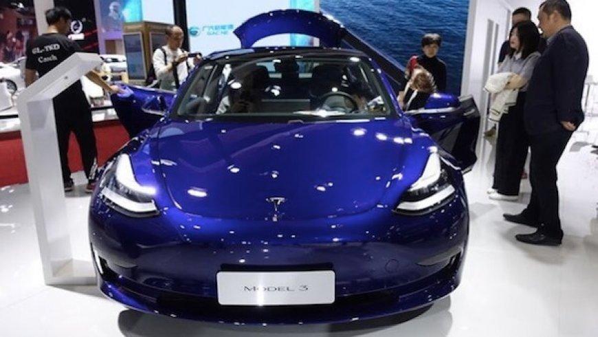 特斯拉Model 3調價
