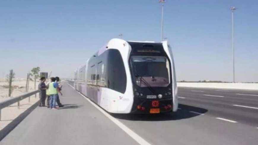中車智軌列車在多哈極端氣溫下進行測試