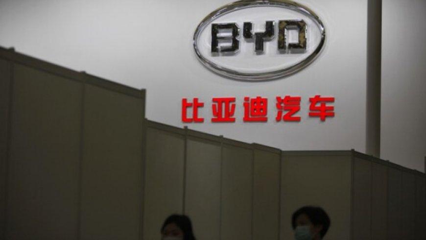 中國電動車市場依舊繁榮,比亞迪利潤增逾兩倍
