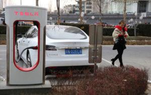 特斯拉 中国工厂 LG化学 电动车电池