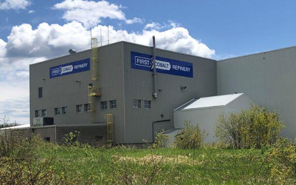 First Cobalt将重启加拿大的冶炼厂