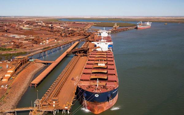 澳大利亚 中国 铁矿石